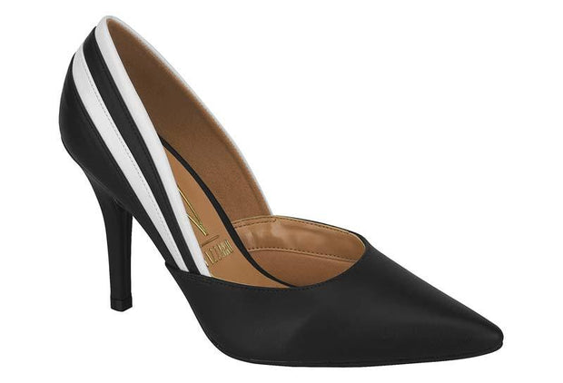 Vizzano 1184-1004 High Heel in Black/White