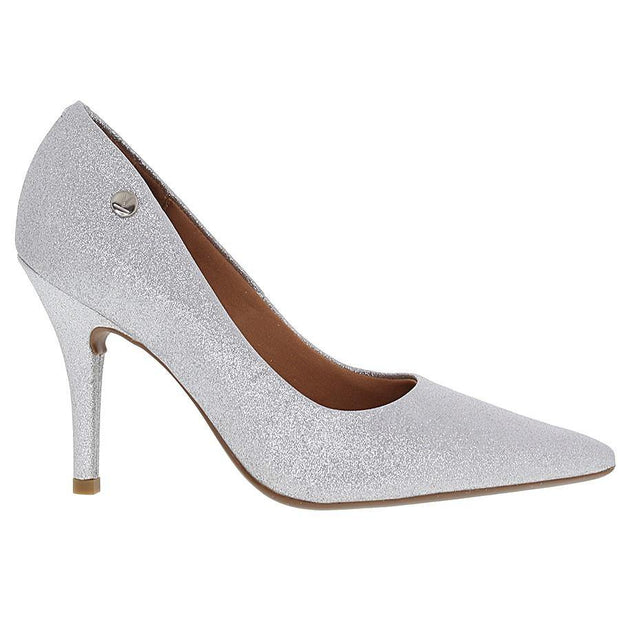 Vizzano 1184-101 Pointy Toe Pump in Silver Glitter