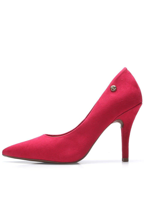 Vizzano 1184-1101 Pointy Toe Pump in Pink Suede