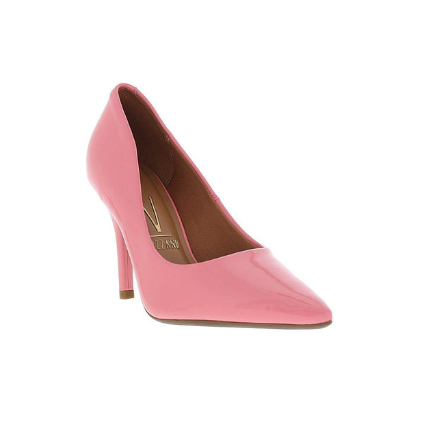 Vizzano 1184-1113 Pointy Toe Pump in Coral Patent