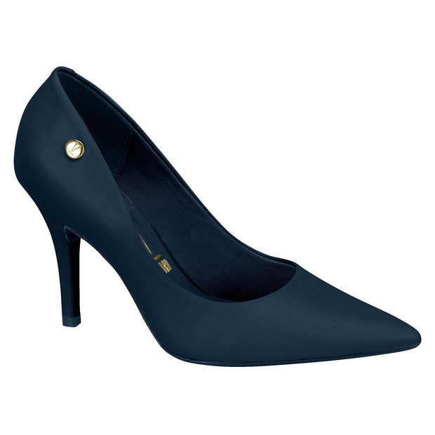 Vizzano 1184-1201 Pointy Toe Pump in Navy Napa