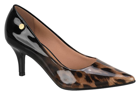 Vizzano 1185-102 Pointy Toe Pump in Leopard