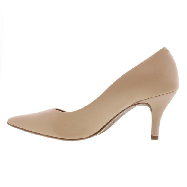 Vizzano 1185-102 Pointy Toe Pump in Beige Napa