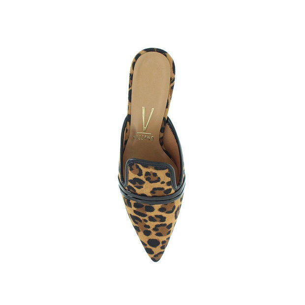 Vizzano 1185-173 Pointy Toe Mule in Leopard