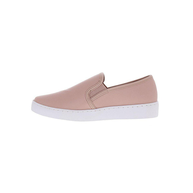 Vizzano 1214-200 White Sole Loafer in Pink Napa