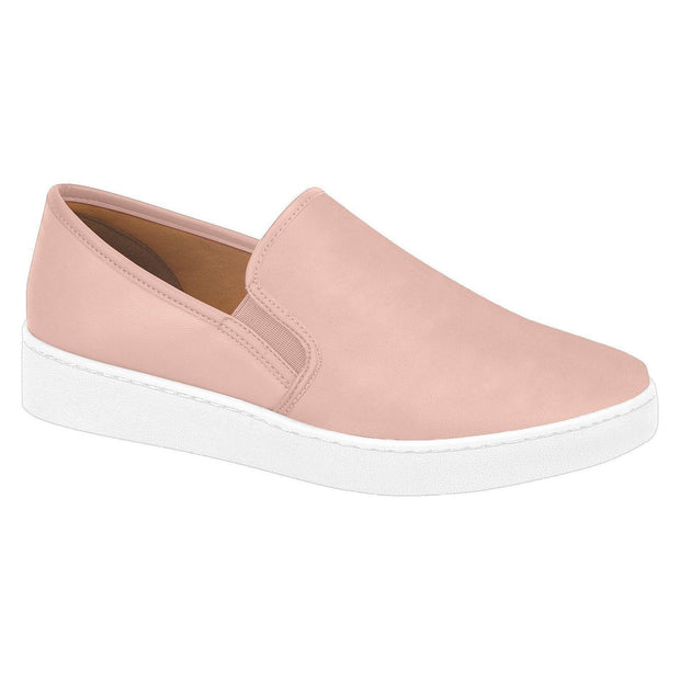 Vizzano 1214-200 White Sole Loafer in Pink Napa Flats Vizzano