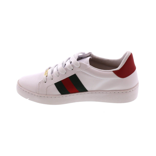 Vizzano 1214-260 Bumble-Bee Sneaker in White Napa