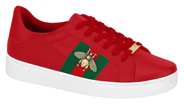 Vizzano 1214-260 Bumble-Bee Sneaker in Red Napa