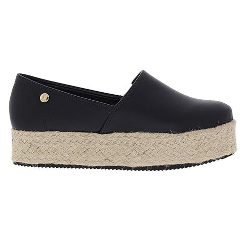 Vizzano 1305-100 Espadrille Loafer in Black Napa