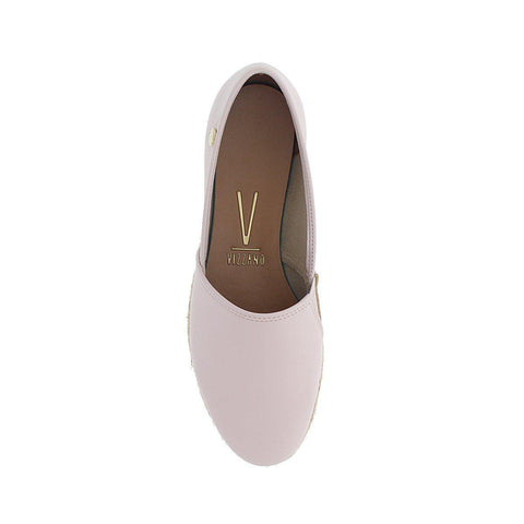 Vizzano 1305-100 Espadrille Loafer in Cream Napa