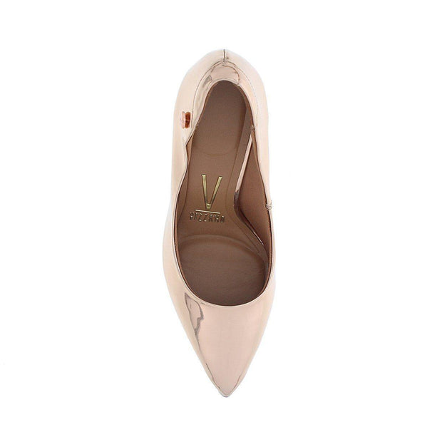 Vizzano 1321-100 Pointy Toe Pump in Rose Gold