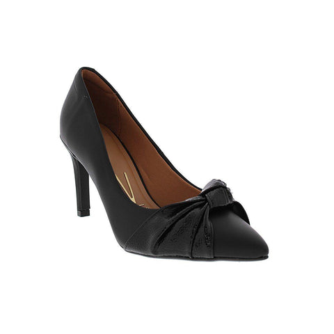 Vizzano 1321-102 Mid Heel Knotted Pump in Black