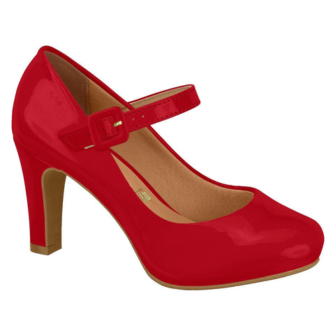 Vizzano 1840-303 Mary-Jane Pump in Red Patent