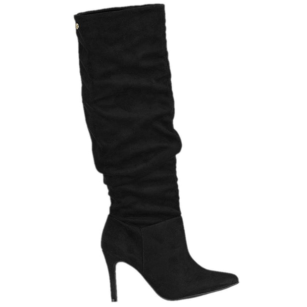 Vizzano 3049-226 Stiletto Boot in Black Suede