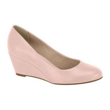 Beira Rio 4791-400 Wedge in Pink Napa