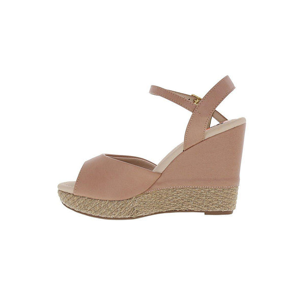 Moleca 5411-307 High Heel Wedge in Nude Napa