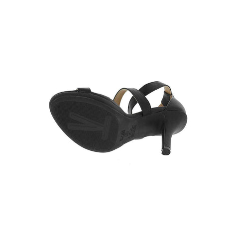 Vizzano 6210-483 High Heel Strappy Sandal in Black Napa