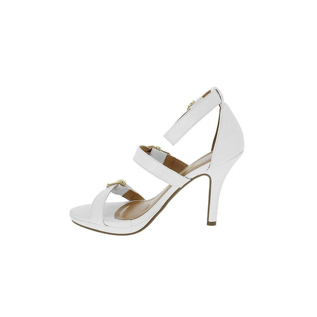 Vizzano 6210-483 High Heel Strappy Sandal in White Napa