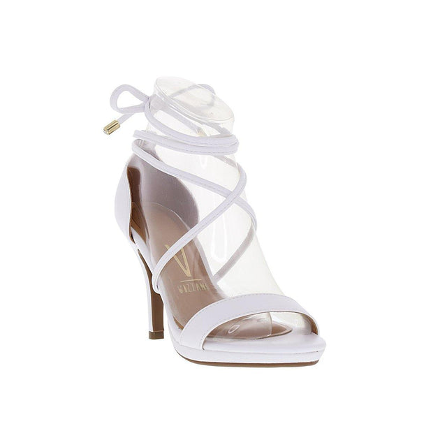 Vizzano 6210-692 High Heel Strappy Sandal in White Napa