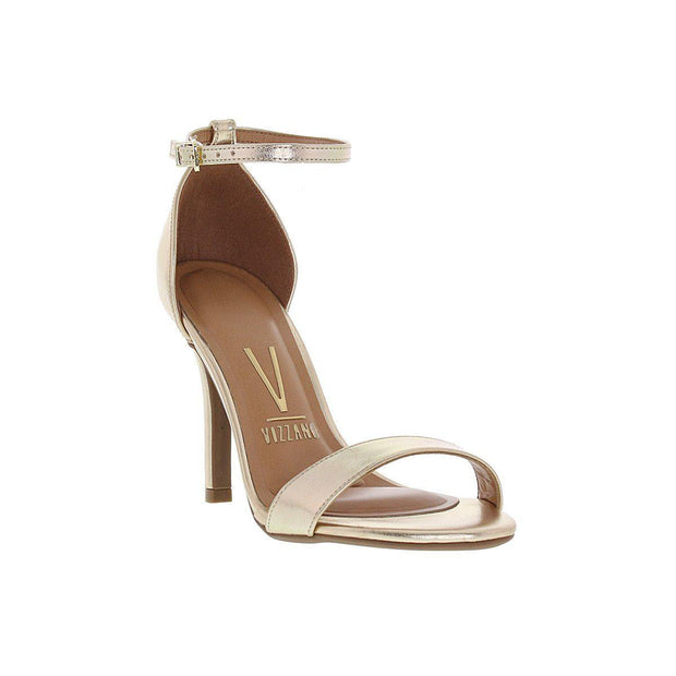Vizzano 6249-452 High Heel Sandal in Gold Napa