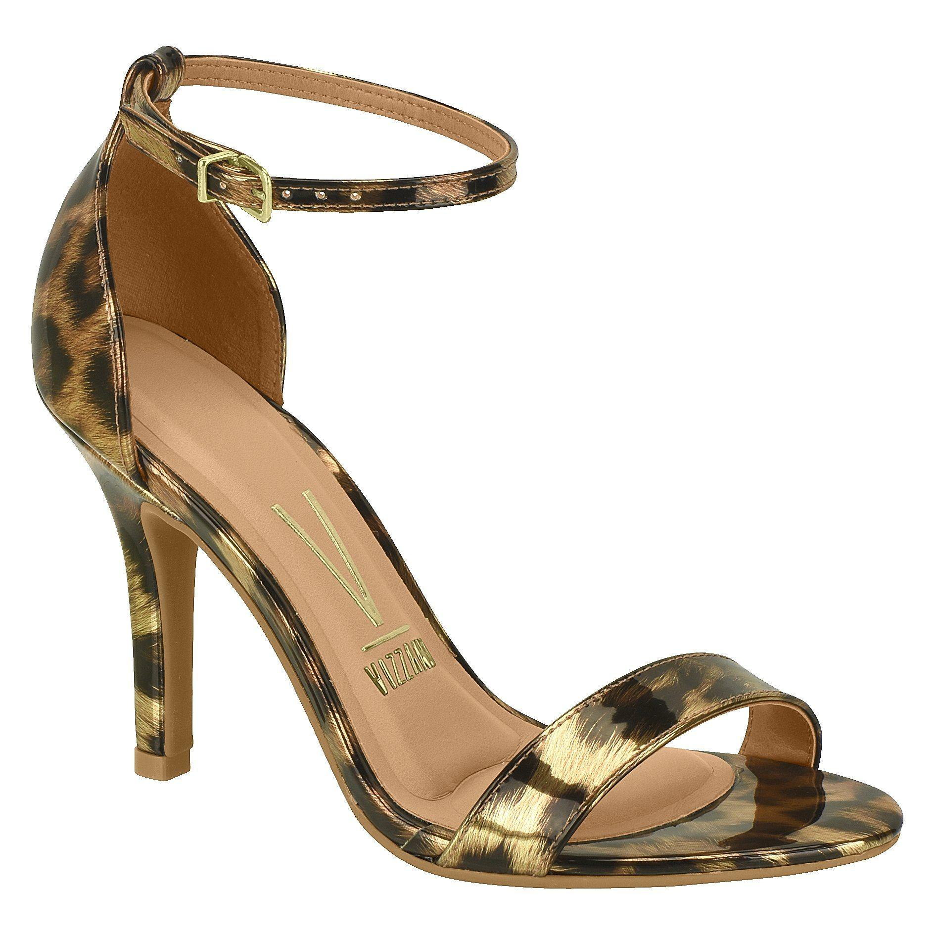 Vizzano 6249-452 High Heel Sandal in Leopard