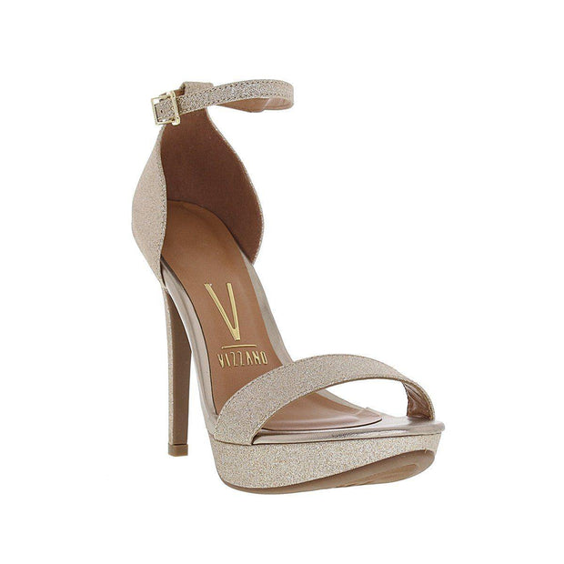 Vizzano 6278-104 High Heel Sandal in Gold Shimmer