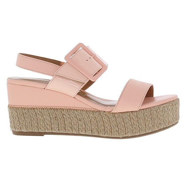 Vizzano 6407-102 Flatform Wedge in Peach Patent