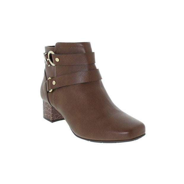 Modare 7060-107 Low Heel Ankle Boots in Pine Napa