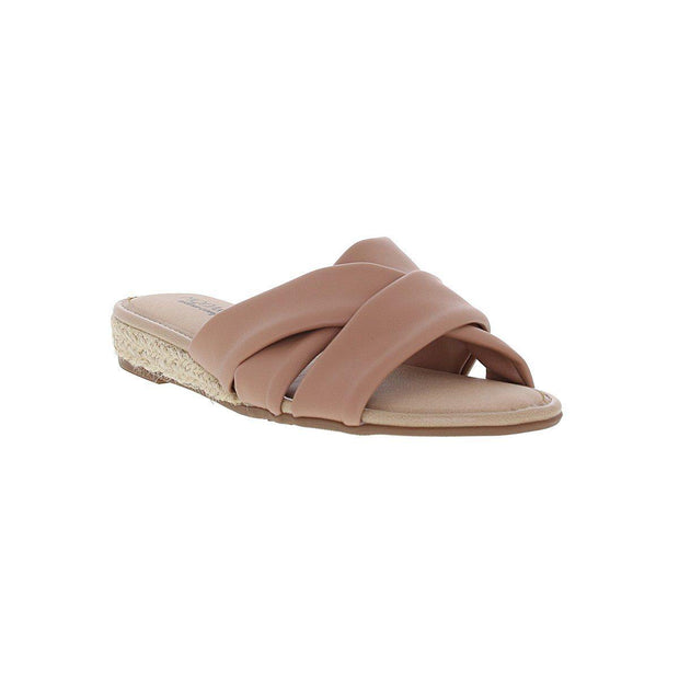 Modare 7138-101 Slip-On Sandal in Nude Napa Sandals Modare