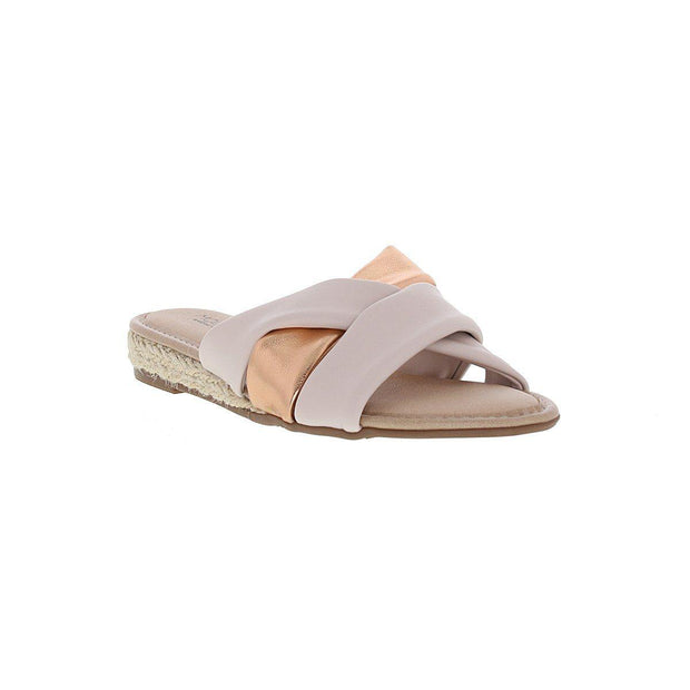 Modare 7138-101 Slip-On Sandal in Cream Napa