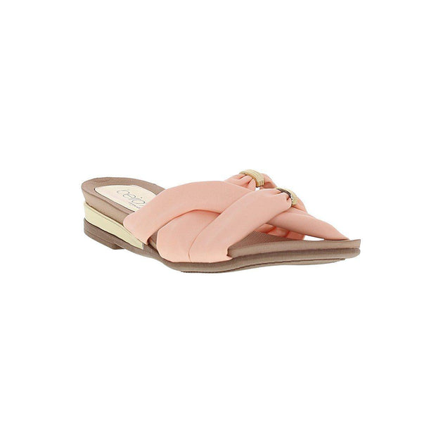 Beira Rio 8397-105 Slip-On Sandal in Peach Napa Sandals Beira Rio