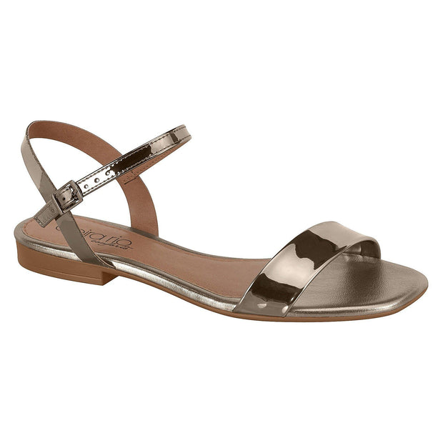 Beira Rio 8328-106 Flat Sandal in Graphite