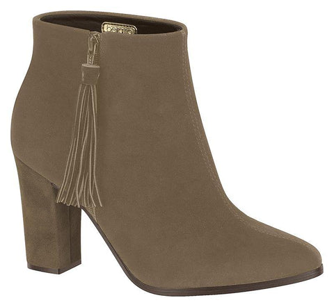 Beira Rio 9043-100 Ankle Boot in Grey Nubuck