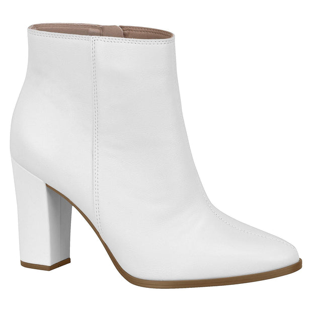 Beira Rio 9043-117 Ankle Boots in White Napa