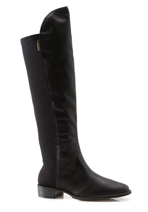 Beira Rio 9045-107 Riding Boot in Black