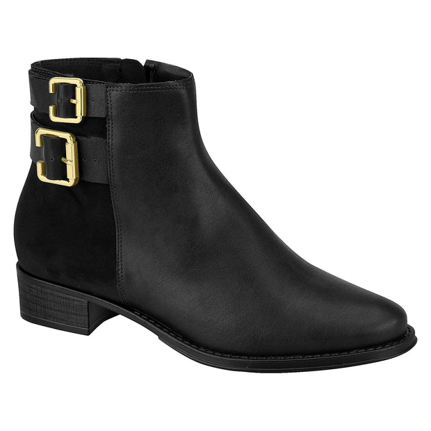 Beira Rio 9045-125 Ankle Boot in Black Boots Beira Rio