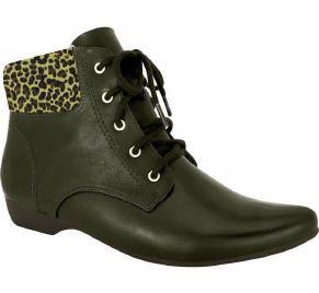 Comfortflex 16-90305 Flat Ankle Boot in Coffee Napa