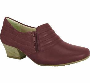 Comfortflex 16-95304 Low Heel Pump in Wine Heels Comfortflex