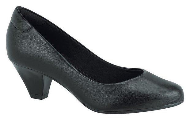 Modare 7005-100 Low Heel Pump in Black Napa
