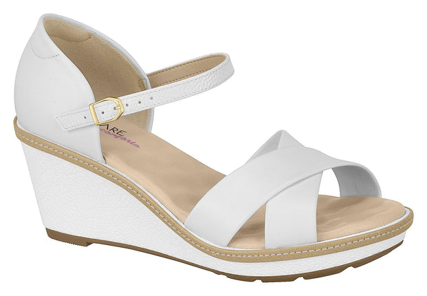 Modare 7040-104 Wedge Sandal in White Wedges Modare