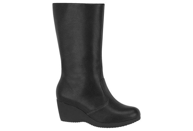 Modare 7047-104 Mid-calf Wedge Boot in Black