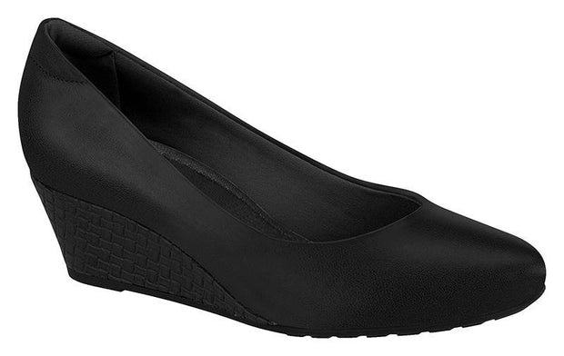 Modare 7054-100 Wedge in Black Napa