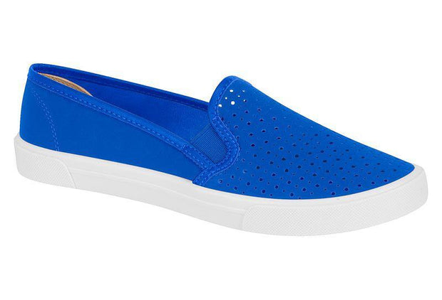 Moleca 5296-100 Blue Tennis Shoe