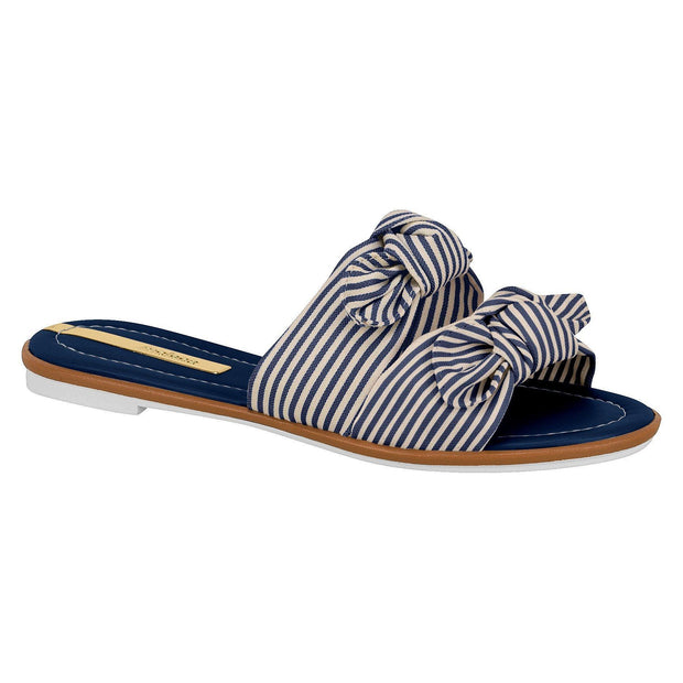 Moleca 5297-324 Slip-on Sandal in Multi Navy