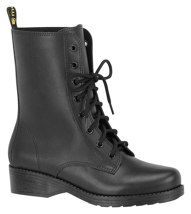 Moleca 5306-101 Lace-up Boot in Black
