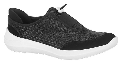Moleca 5603-100 Sneaker in Black