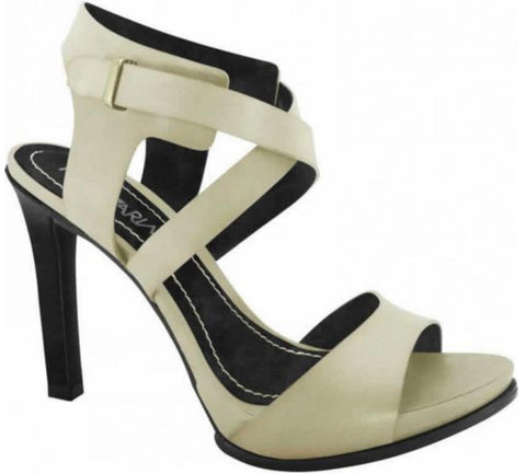 Ramarim 14-27201 High Heel Sandal in Almond/Black