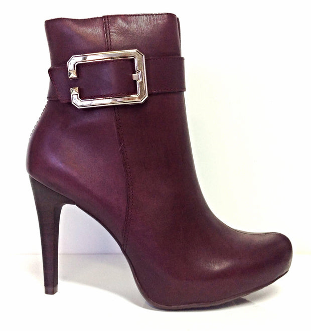 Ramarim 14-79102 High Heel Ankle Boot in Ruby