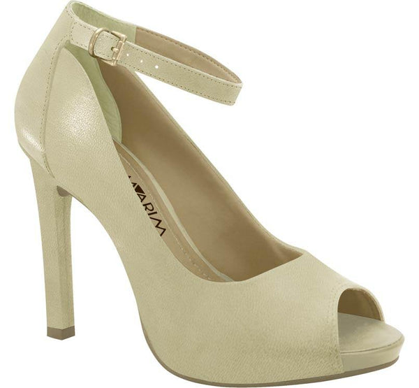 Ramarim 15-22154 High Heel Peeptoe with the Ankle Strap in Skin