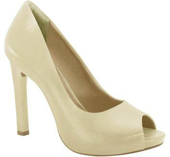 Ramarim 15-22252 Classic High Heel Peeptoe in Almond